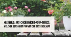 Teaser Kleinbild-APS-C-Micro-Four-Thirds