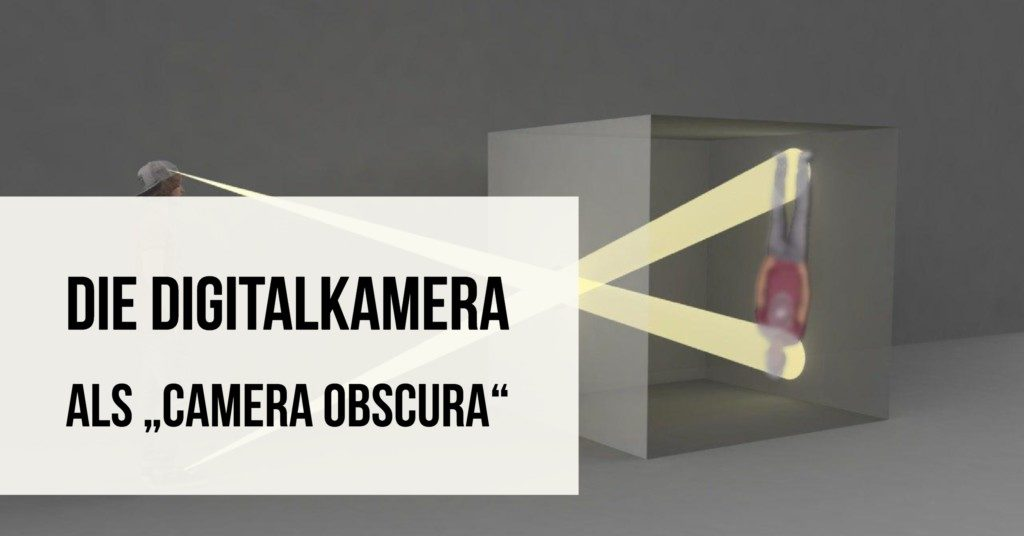 Digitalkamera als Camera Obscure