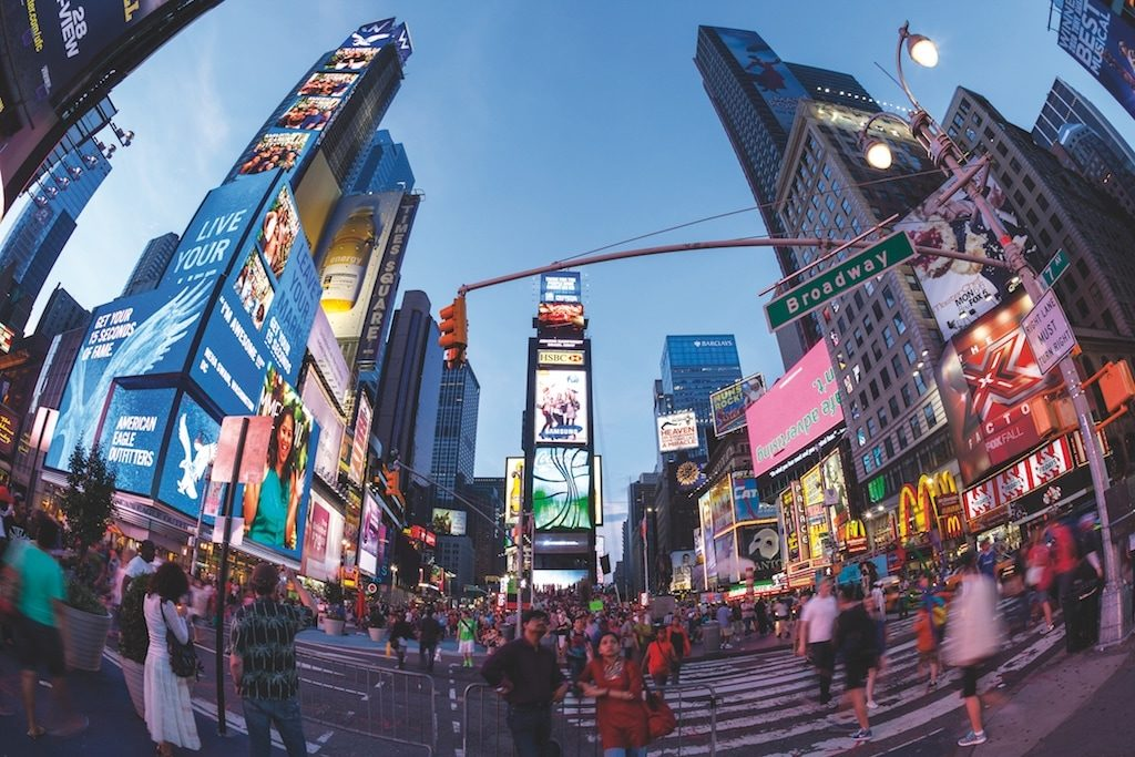 Times Square am Abend