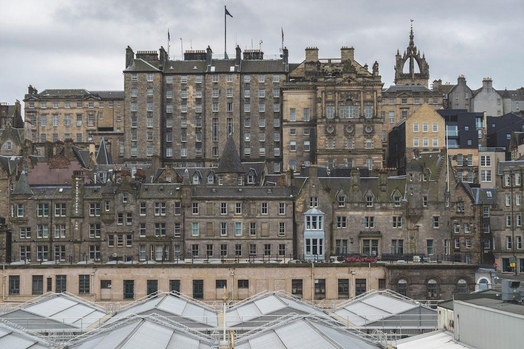 Im Zentrum von Edinburgh