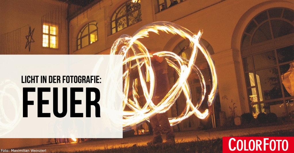 Licht in der Fotografie: Feuer