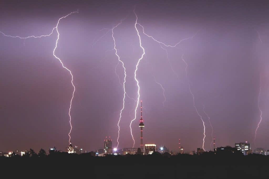 Blitze sammeln