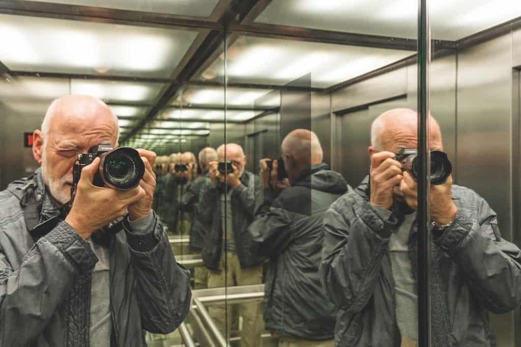 Geklonter Fotograf