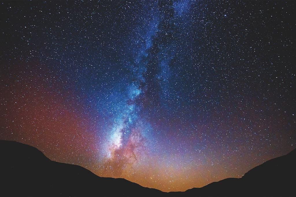 Milchstraße über dem Sinai