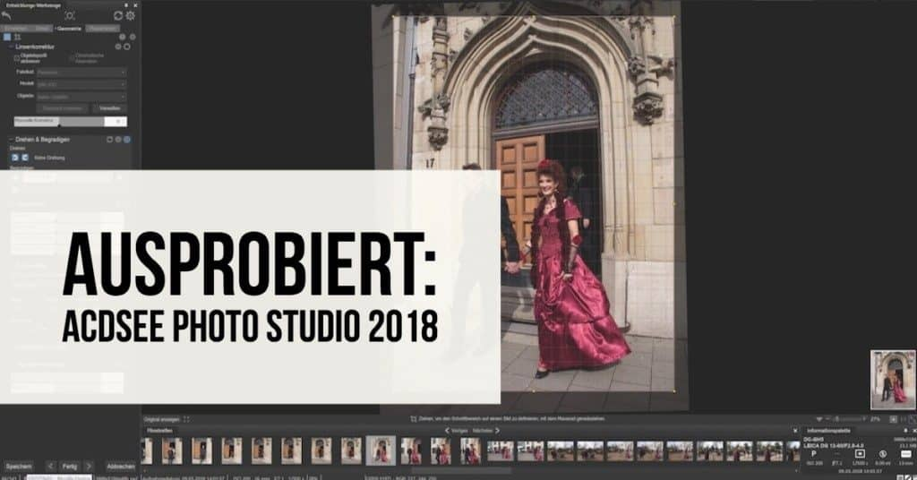 Ausprobiert: ACDSee Photo Studio 2018