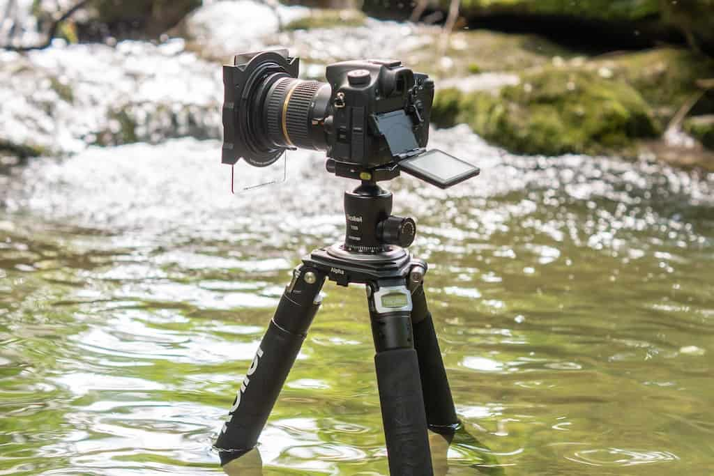 Kamera-Filter im Einsatz