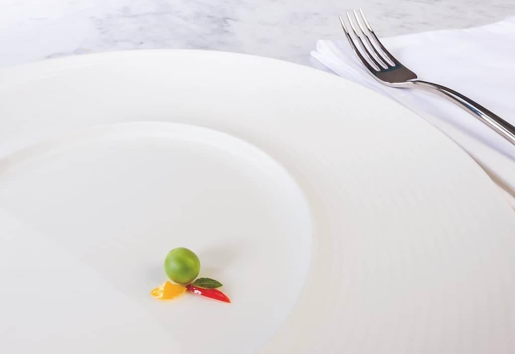 Der leere Teller
