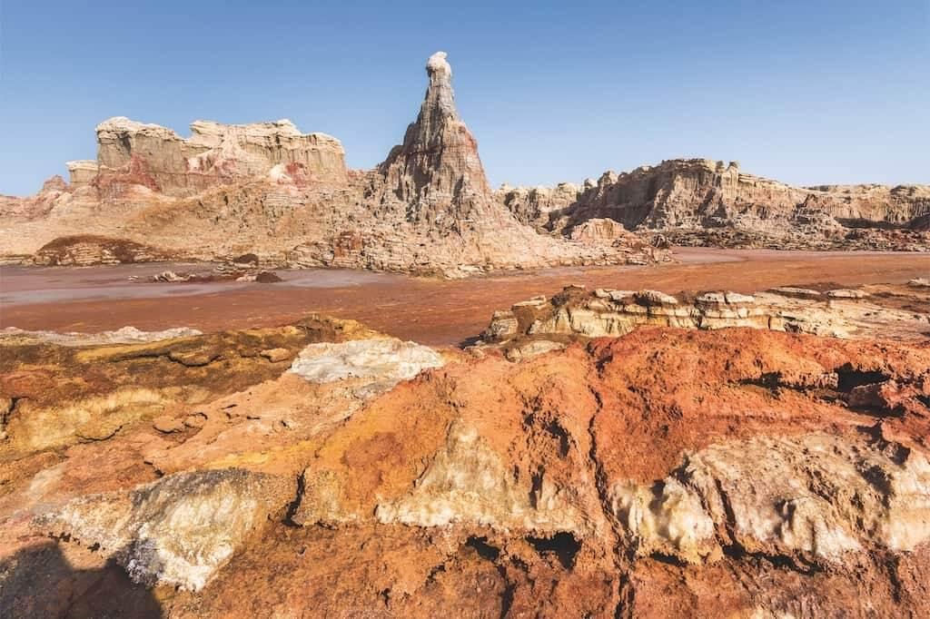 Bizarre Vulkanlandschaften