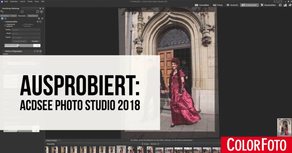 Ausprobiert: ACDSee Photo Studio 2018