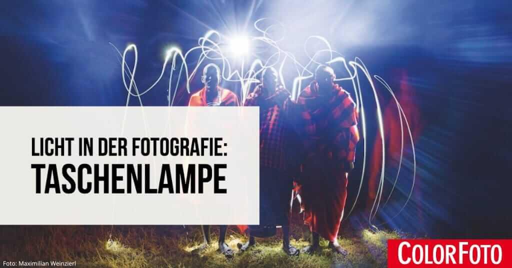 Licht in der Fotografie: Taschenlampe