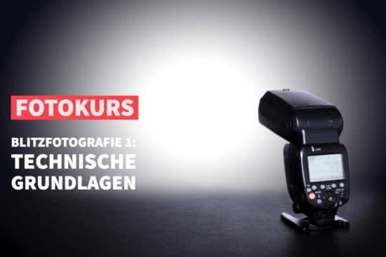 Online-Fotokurs Blitzfotografie 1: Technische Grundlagen