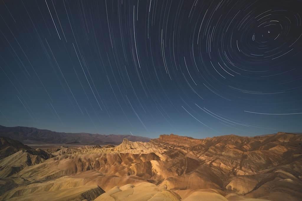 Mondlicht und Sterne
