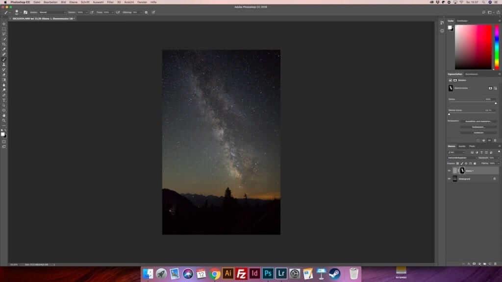 Milchstrassenfotografie – 7