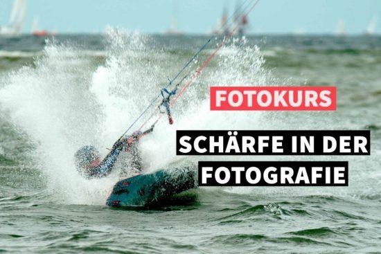 Online-Fotokurs Schärfe