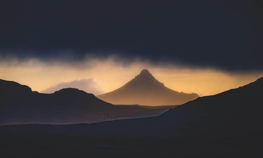 Lichtstimmung in den Bergen
