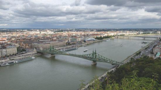 Feiheitsbrücke in Budapest