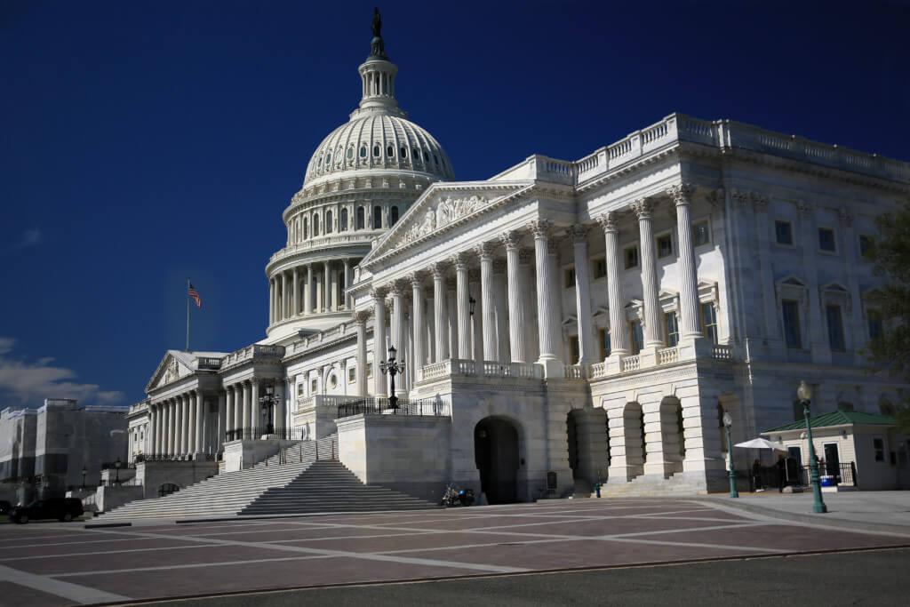 Capitol nach dem Retuschieren und Stapelverarbeitung, noch ohne den Graufilter