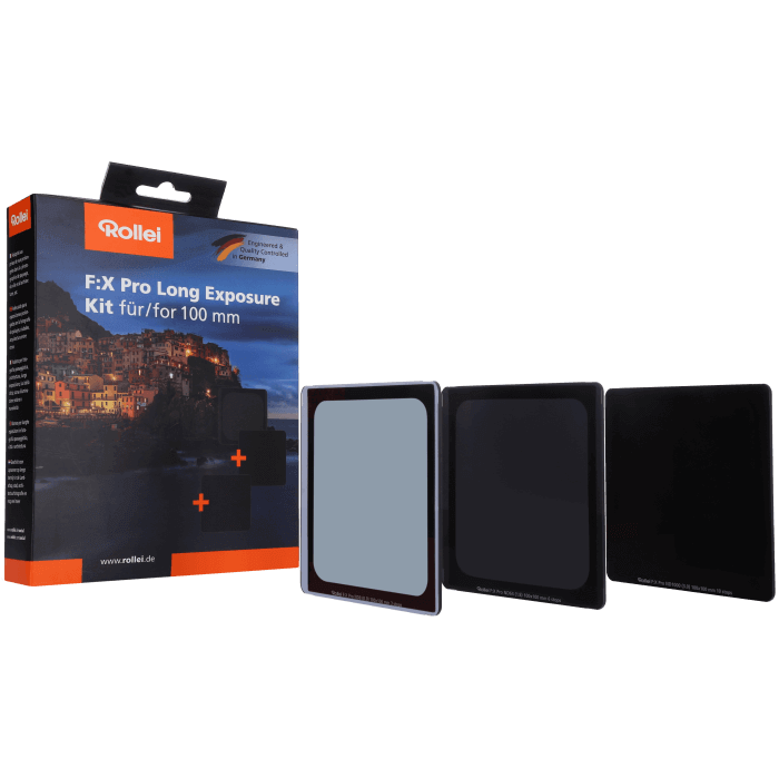 Graufilter Long Exposure Filter Kit von Rollei