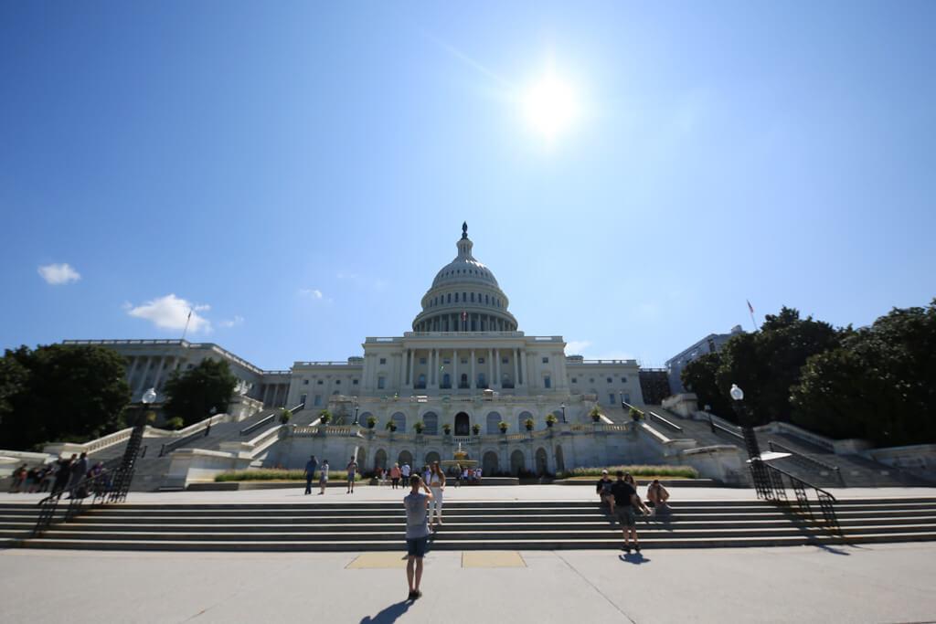 Das Kapitol in Washington mit dem Grauverlaufsfilter von Rollei