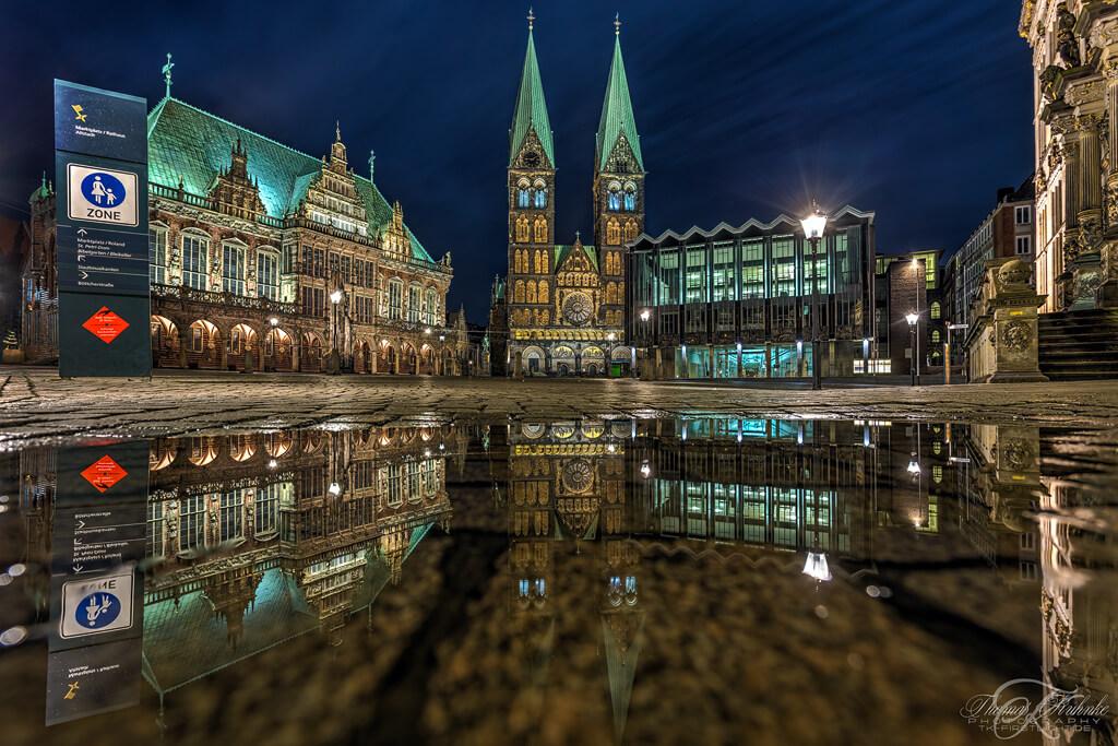 Bremen Sehenswürdigkeit: der Marktplatz