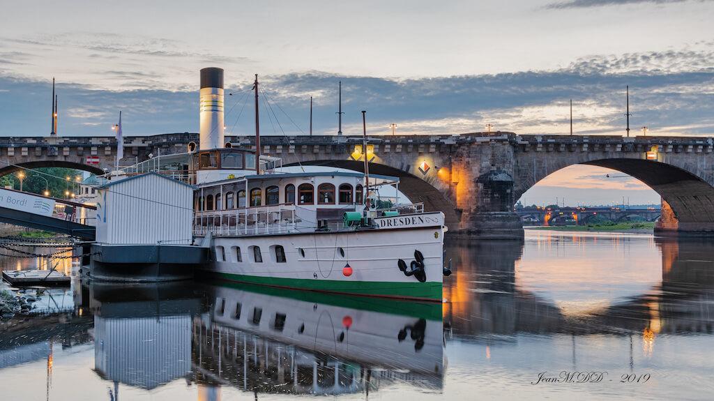 Schiffe in Dresden fotografieren