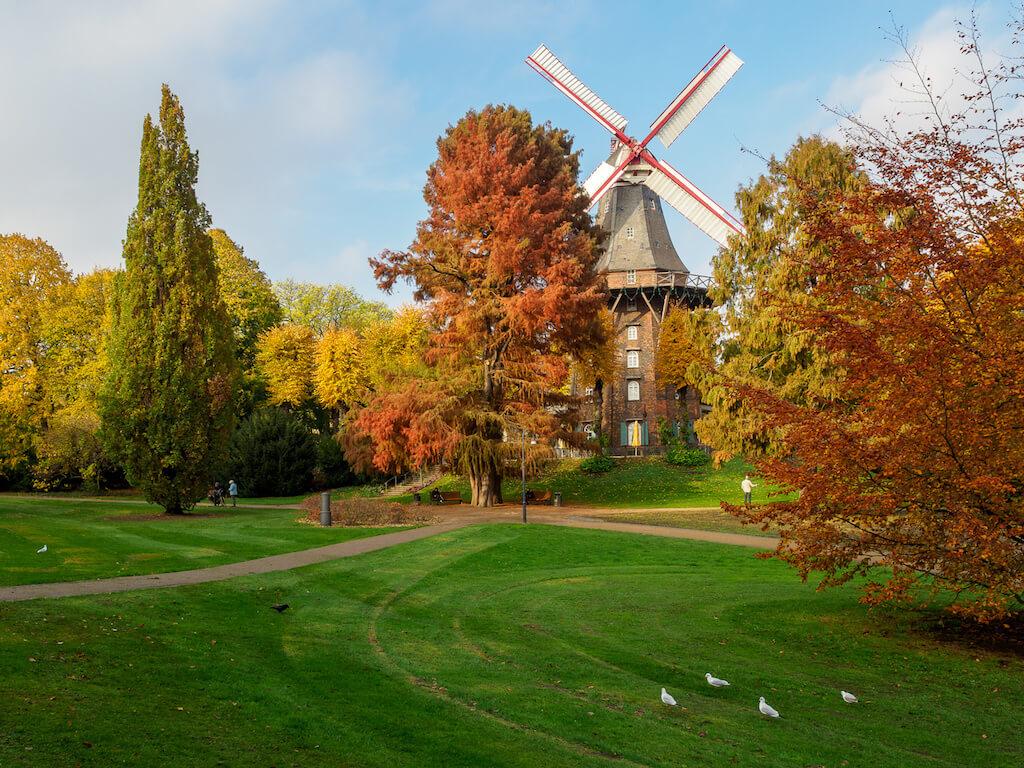 Sehenswürdigkeiten in Bremen: Mühle am Wall