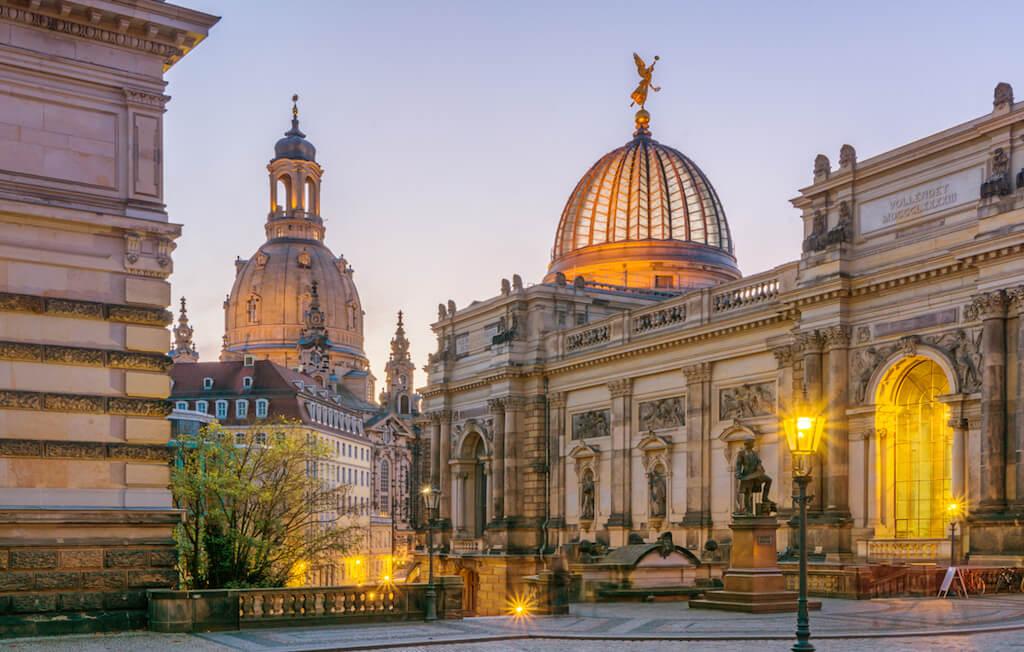 Historische Altstadt in Dresden fotografieren