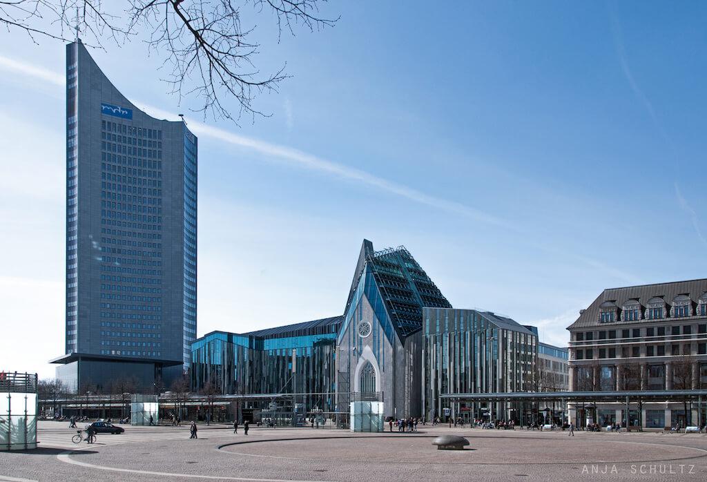 Augustusplatz in Leipzig fotografieren