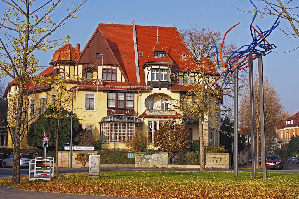 Strehler Villen ausserhalb Dresden