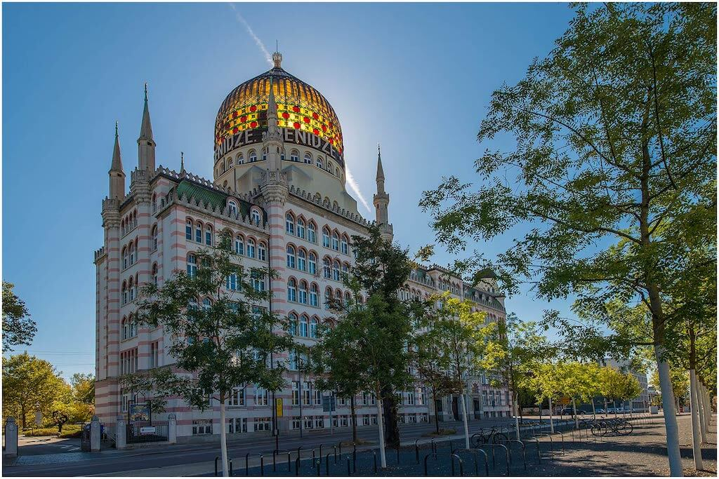 Zigarettenfabrik in Dresden fotografieren
