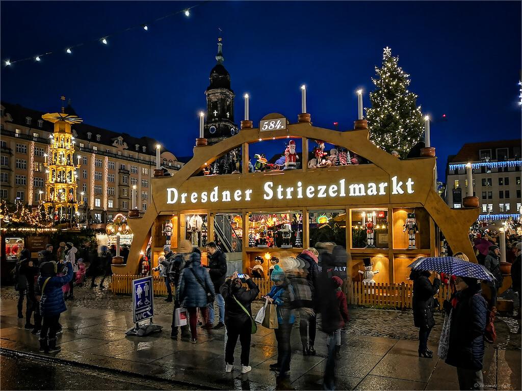 Den Dresdner Striezelmarkt fotografieren
