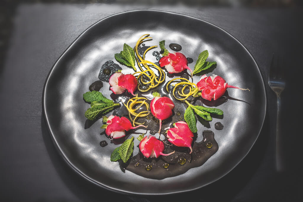 Radieschensalat: Food-Fotografie Beispiel