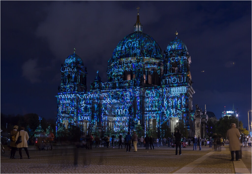Berlin leuchtet, super Fotomotiv für Berliner oder Berlin Touristen