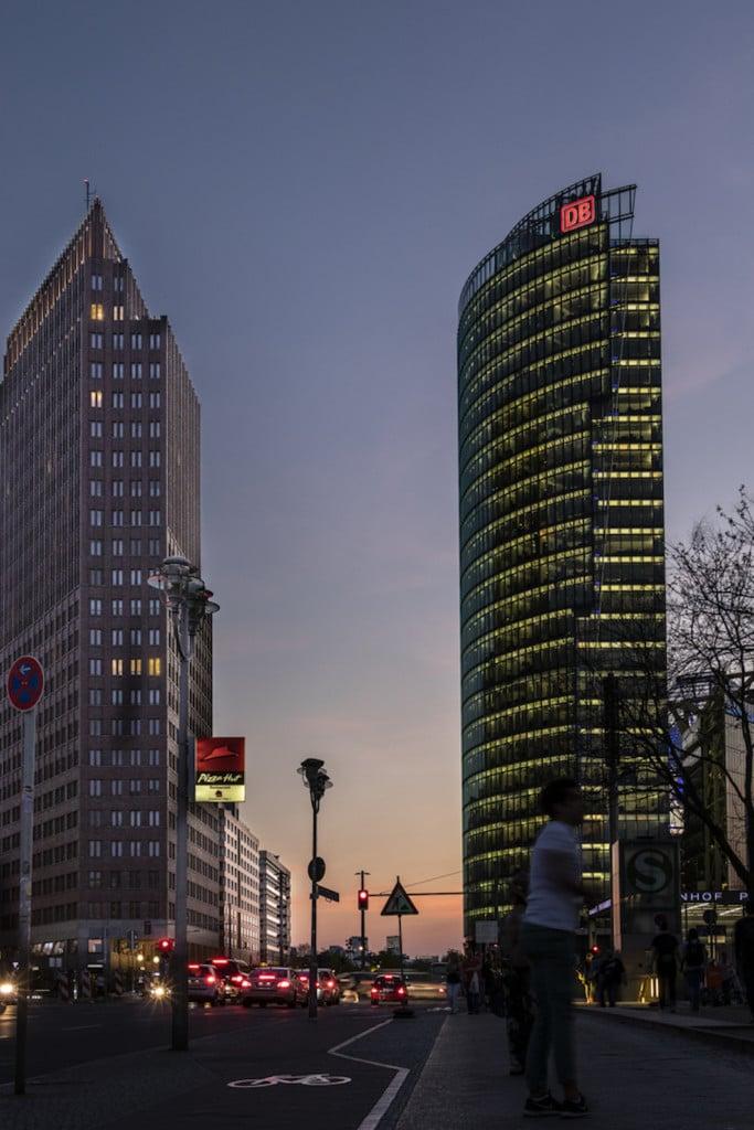Sehenswürdigkeit in Berlin fotografieren: Potsdamer Platz