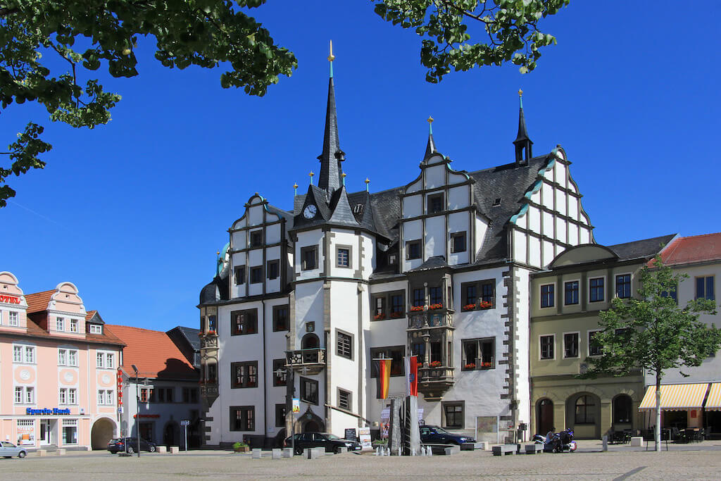 Foto-Motive in Saalfeld: Das Rathaus