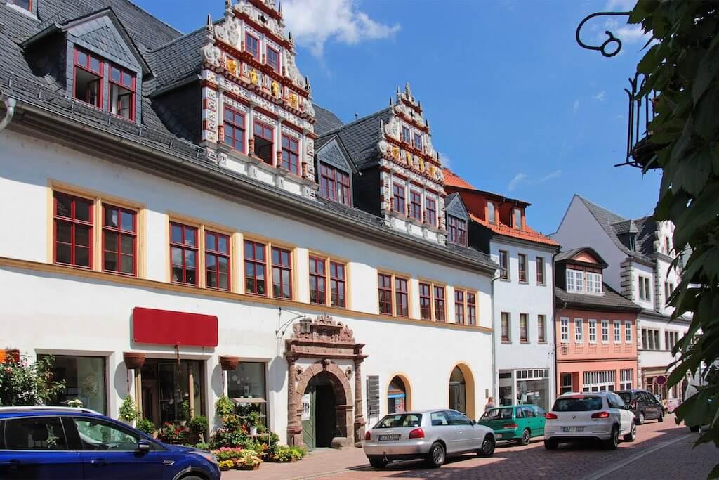 Architektur in Saalfeld fotografieren: Das Patrizierhaus