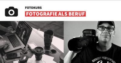 Fotokurs Fotografie als Beruf