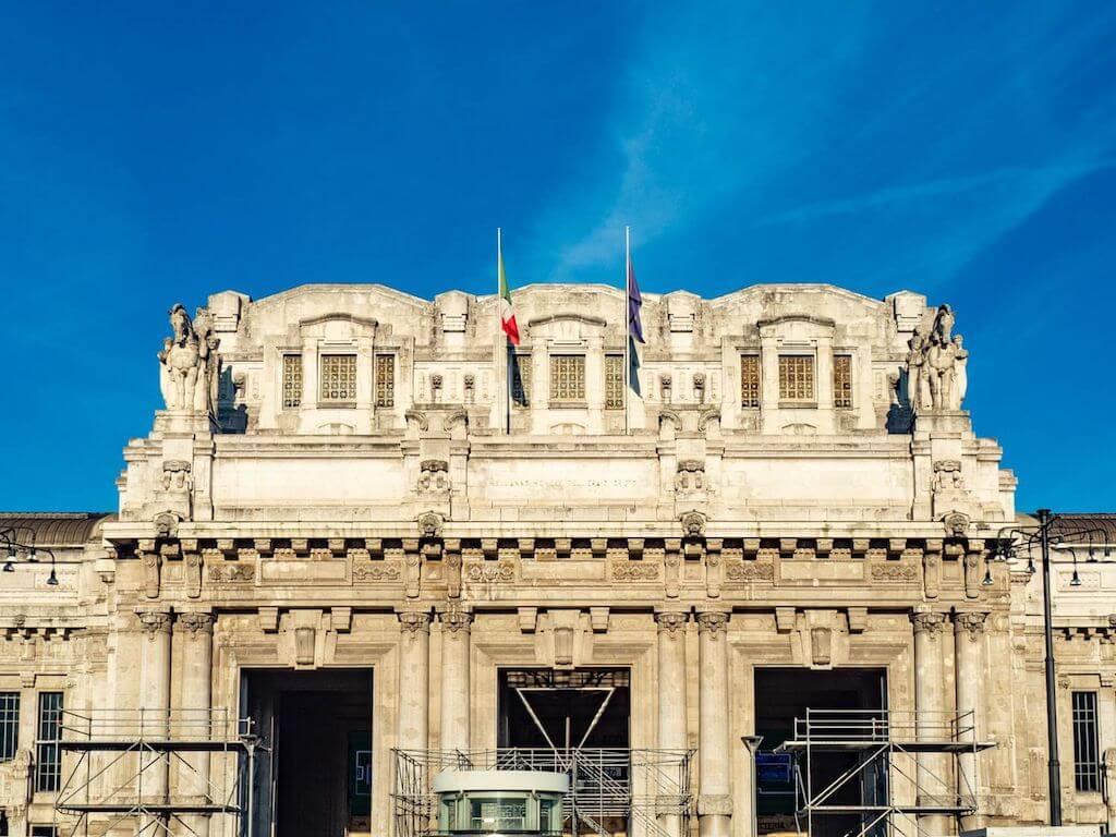 Der Hauptbahnhof in Mailand
