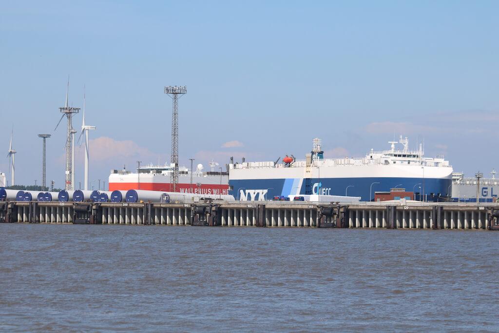 Sehenswürdigkeit in Bremerhaven: Der Hafen