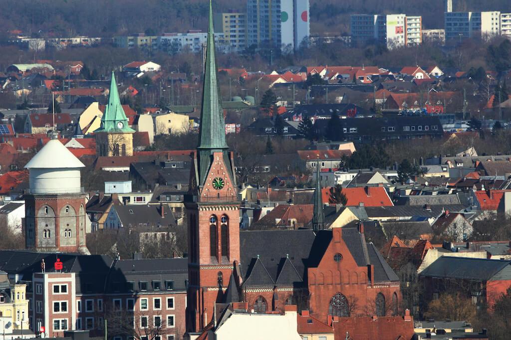 Bremerhaven von oben fotografieren