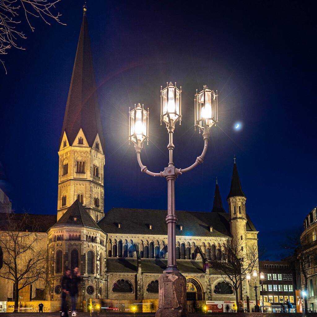 Das Bonner Münster fotografieren