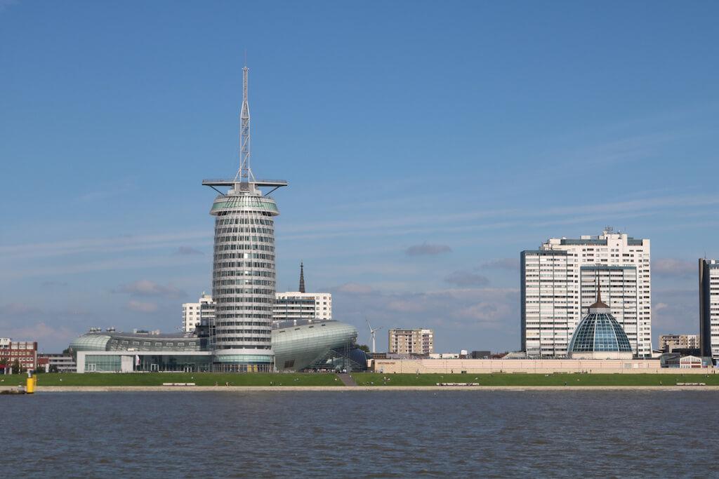 Skyline von Bremerhaven fotografieren