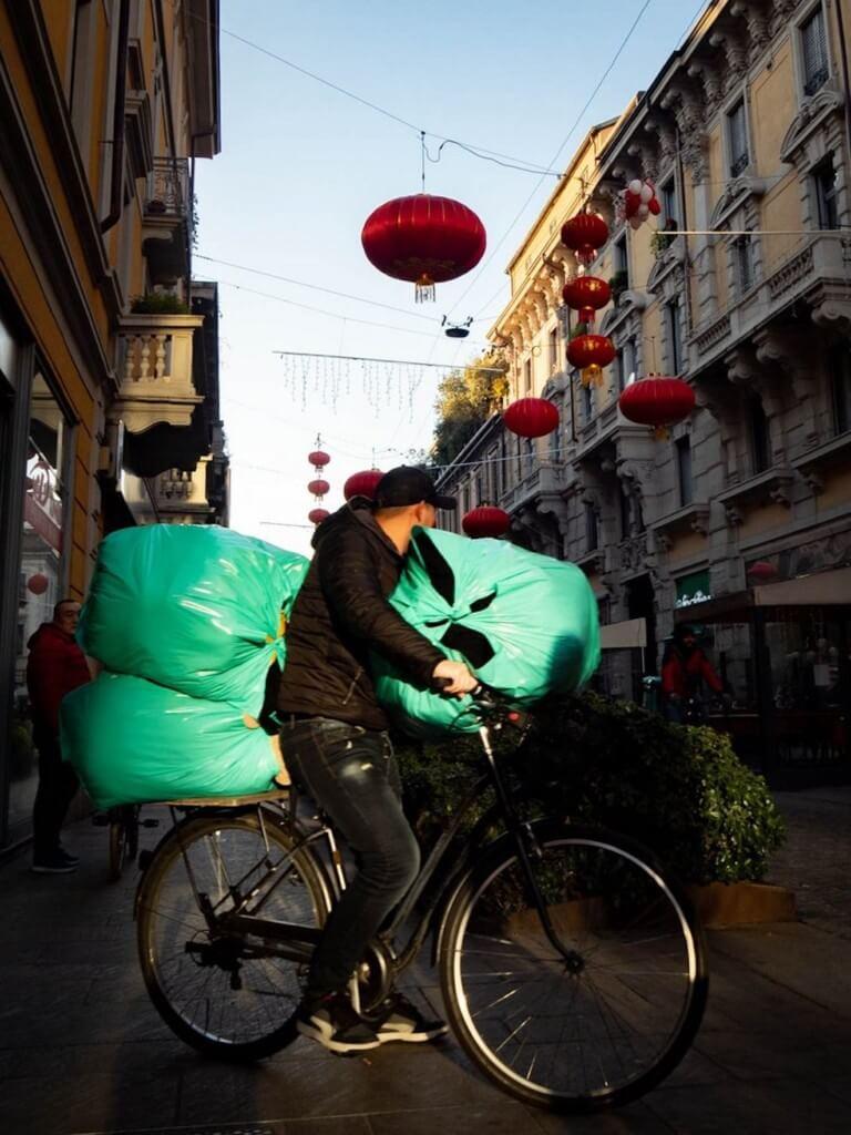 Chinatown in Mailand fotografieren