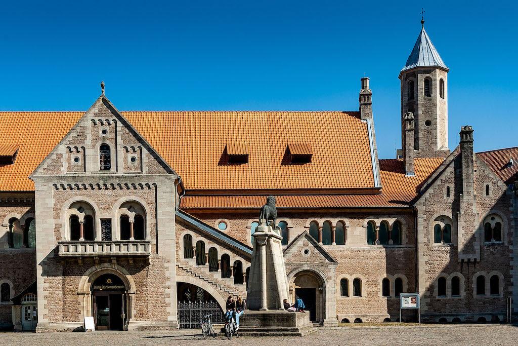 Die Burg Dankwarderode in Braunschweig fotografieren