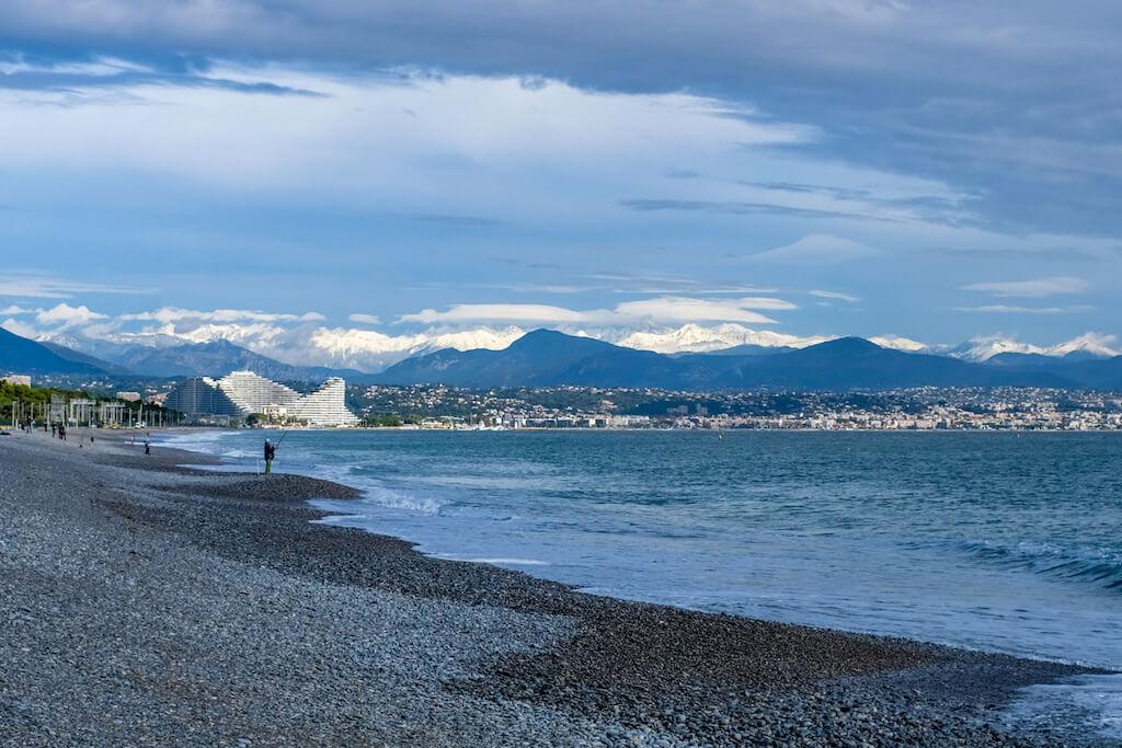 Sehenswürdigkeiten in Nizza fotografieren: Die Engelsbucht