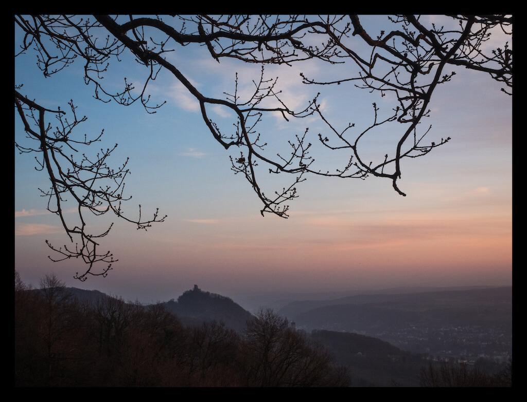 Ausblick vom Drachenfels aus