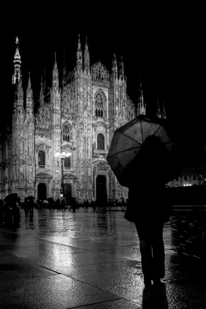 Den Dom in Mailand abends fotografieren