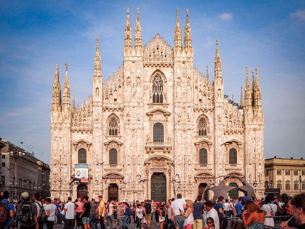 Sehenswürdigkeiten in Mailand fotografieren: Der Mailänder Dom