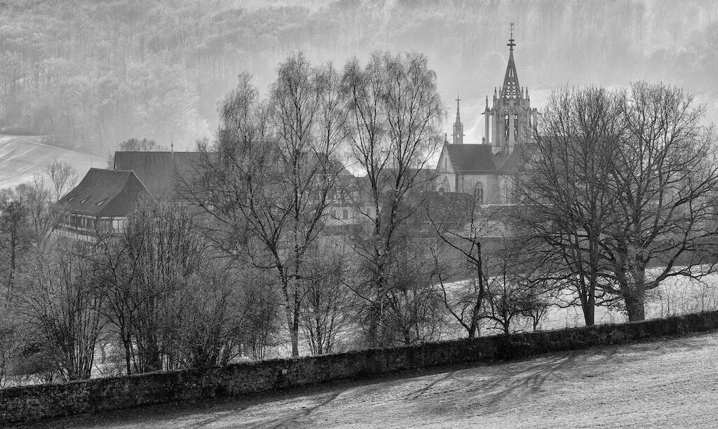Sehenswürdigkeiten in Tübingen fotografieren: Schloss und Klosteranlage Bebenhausen