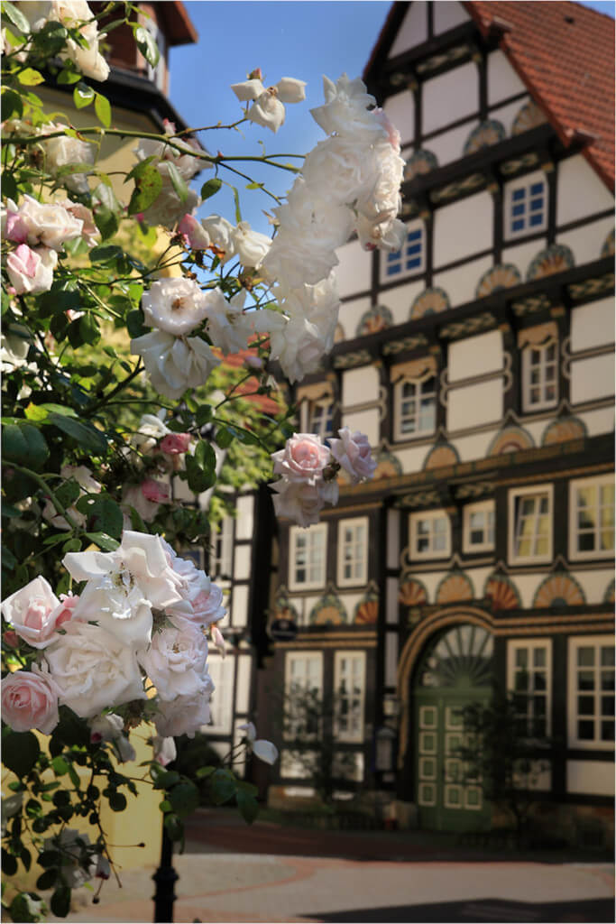 Das Bürgerhaus in Hameln ist eine schöne Fotolocation